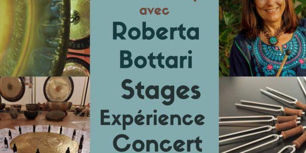 Roberta Bottari Maître Gong en France à partir du 17 au 26 septembre